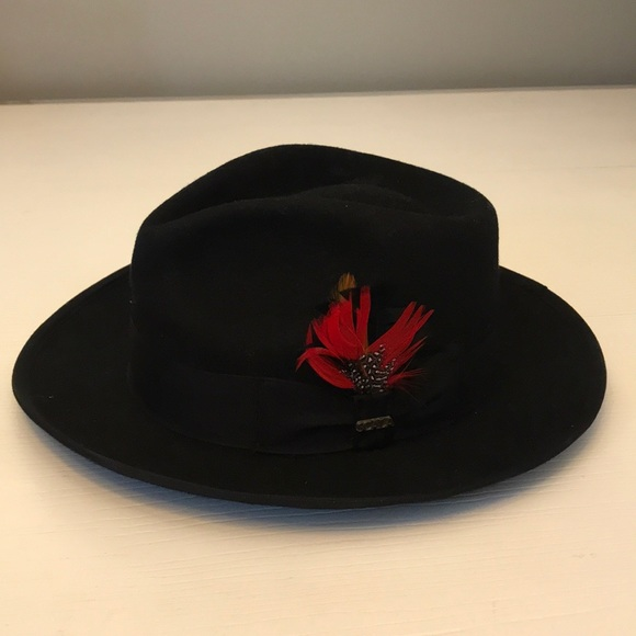 594fa0585c5b8 Black men s hat Scala Classico. M 5bf1be33aaa5b828369c8be3